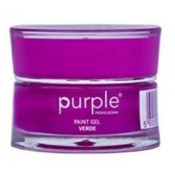 PURPLE Gel Paint VERDE 5gr P619