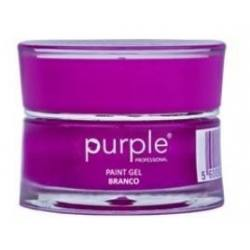 PURPLE Gel Paint BLANCO 5gr P609