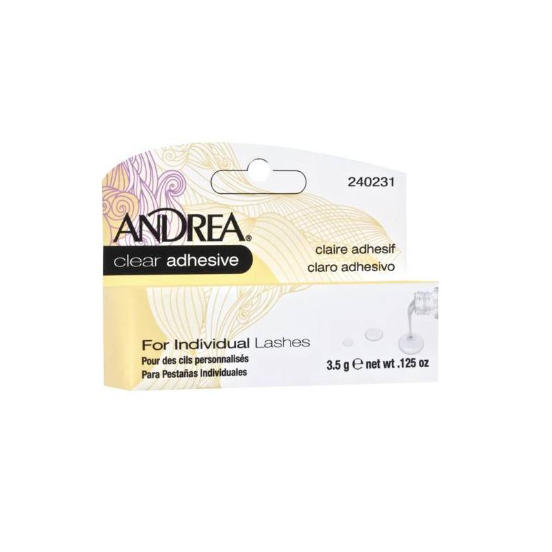 ANDREA Adhesivo Claro Pestañas Individuales 02713