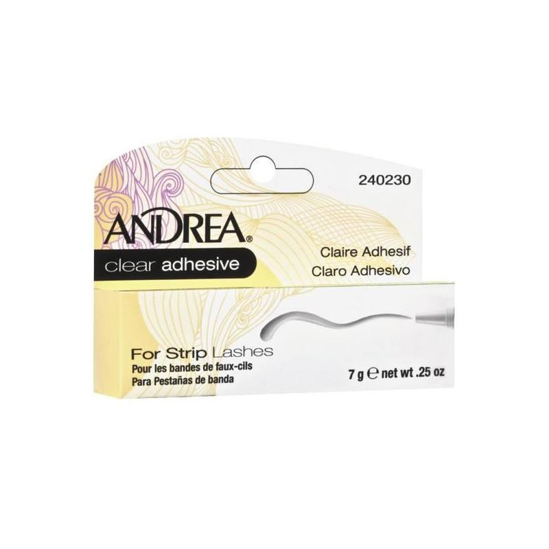 ANDREA Adhesivo Claro Pestañas Completas 02711