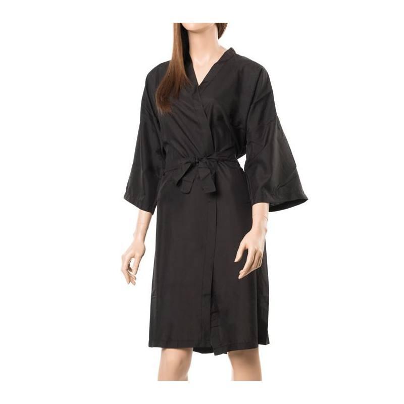 EUROSTIL Kimono Poliéster Negro 04300