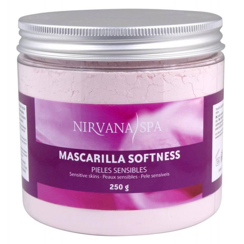 NIRVANA SPA Máscara Facial Softness 250gr