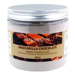 NIRVANA SPA Máscara Facial Chocolate 250gr