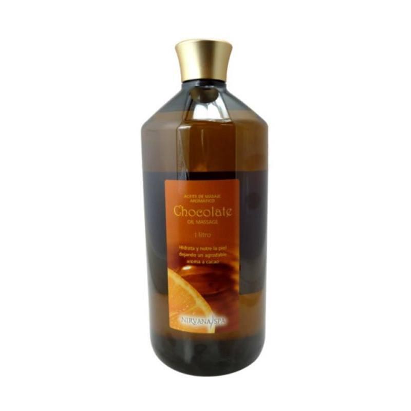 NIRVANA SPA Aceite Masaje Chocolate 1000ml