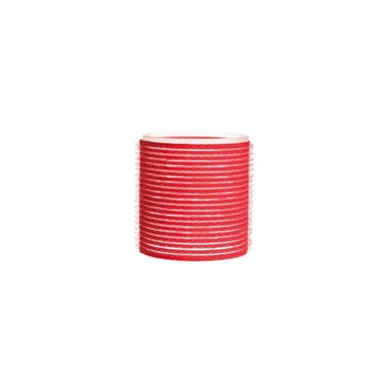 EUROSTIL Rulo Velcro Rojo 3uds 00034