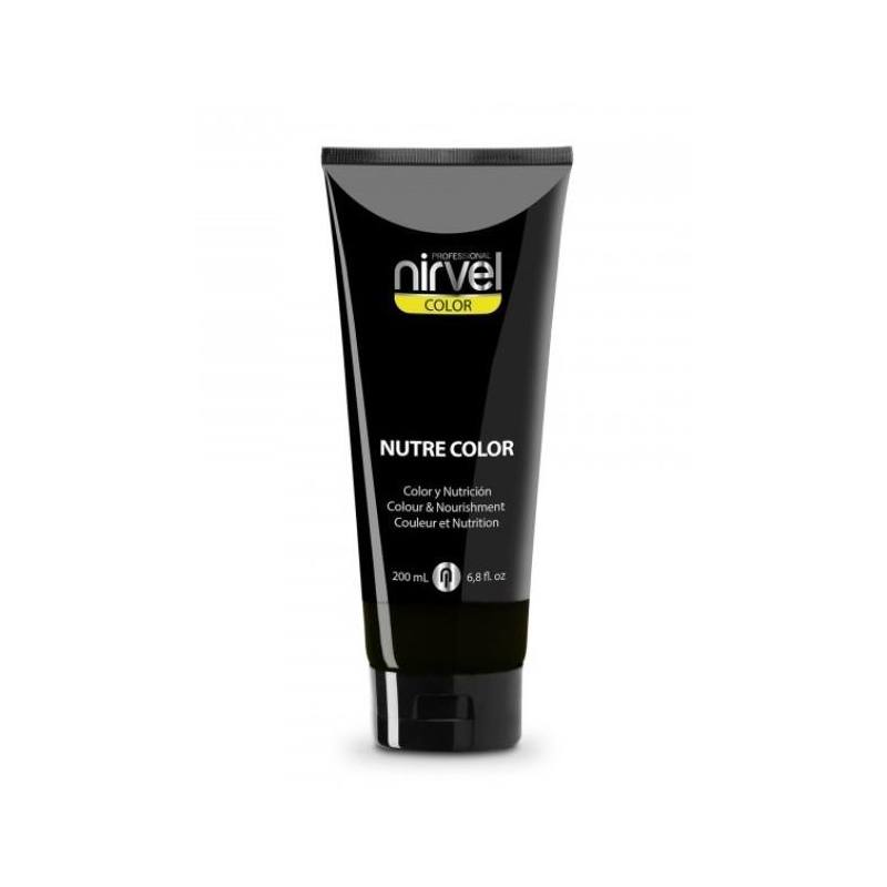 NIRVEL Mascarilla Nutre Color NEGRO 200ml