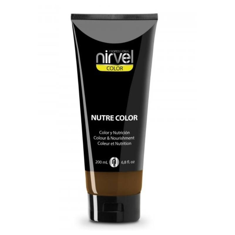 NIRVEL Mascarilla Nutre Color MARRÓN 200ml