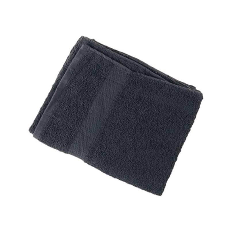EUROSTIL Pack Toallas 50x90 Algodón Negra 02901/50