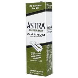 ASTRA Cuchilla Platinum 100uds