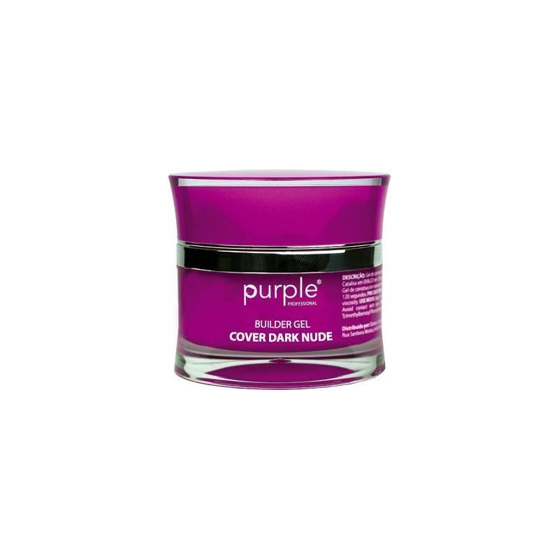 PURPLE Gel Constructor Cover Nude Oscuro 15g P1487