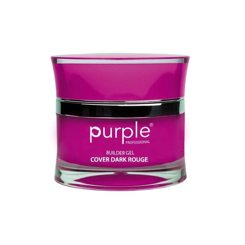 PURPLE Gel Constructor Cover Rojo Oscuro 15g P1490