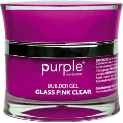 PURPLE Gel Constructor Cristal Rosa Claro 15g P250