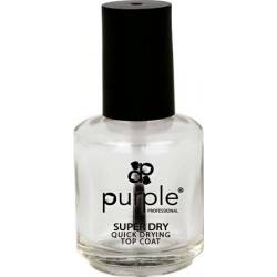 PURPLE Top Coat Secado Rápido 15ml P208