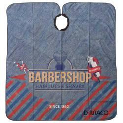 LACLA Capa Barber Shop Tijeras Azul 22002372