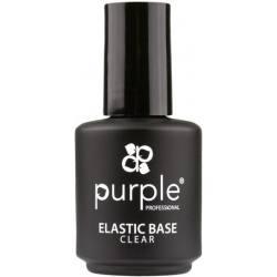 PURPLE Base Elástica Transparente 15ml P1454