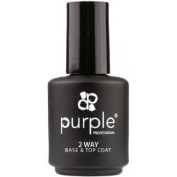 PURPLE Base Coat & Top Coat 15ml P790
