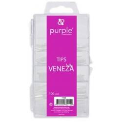 PURPLE Tips VENEZA 100uds P138