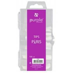 PURPLE Tips PARIS 100uds P743