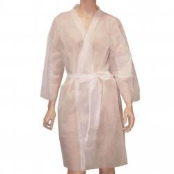 POLLIÉ Kimono Desechable BLANCO 10uds 07307/58