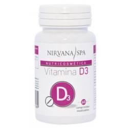 NIRVANA SPA Vitamina D3 60 Comprimidos