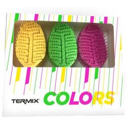 TERMIX Pack Cepillo Detangling 6uds