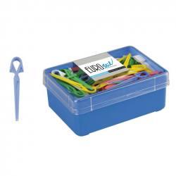 EUROSTIL Pinza Plástico Mediana 60ud 00056