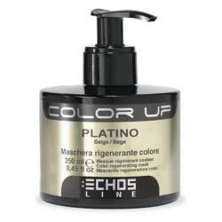 ECHOSLINE Mascarilla Color Up PLATINO 250ml